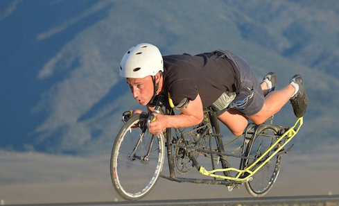 Battle Mountain Graeme Obree's Story. Photo: Edinburgh International Film Festival