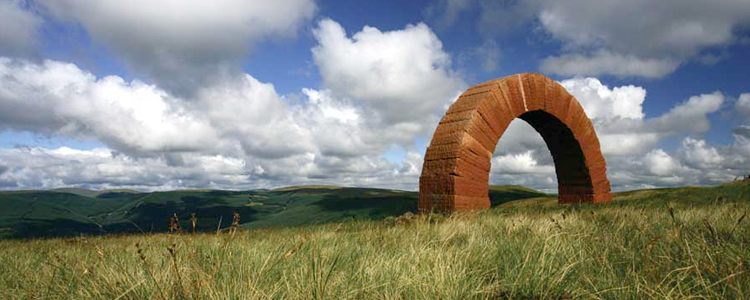 Striding Arches - Andy Goldsworthy