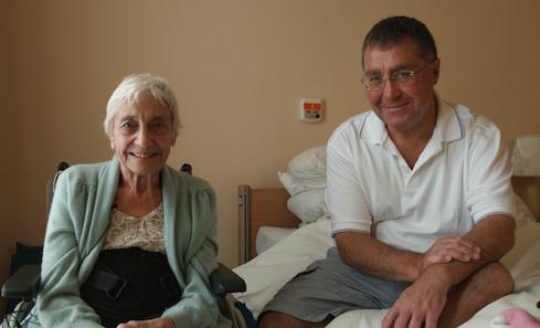 May Reid & son Derek