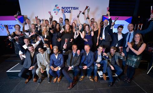 2018 Scottish EDGE Awards winners