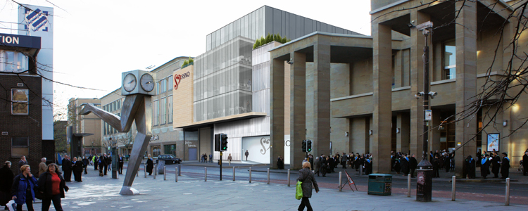 Proposed redevelopment of the Glasgow Royal Concert Hall (Image: Glasgow City Council: DRS Civic Design)