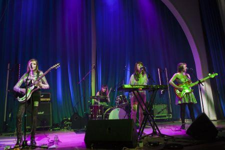 TeenCanteen perform at Showcasing Scotland