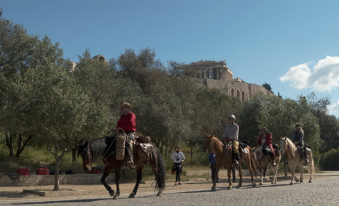 Riders at Akropolis