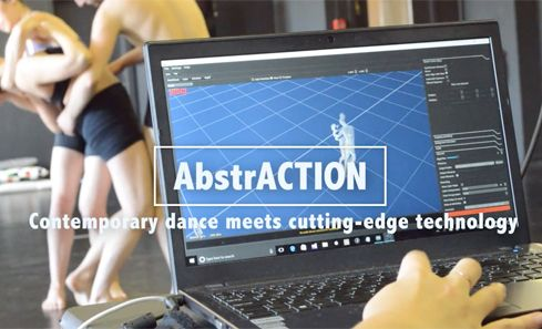 Contemporary dance meets cutting-edge tech with AbstrACTION image