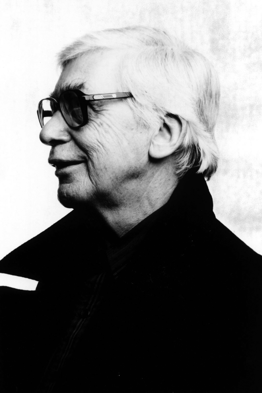 A portrait image of Edwin Morgan