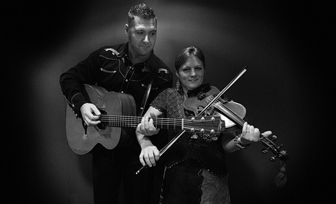 Ross Martin and Eilidh Shaw