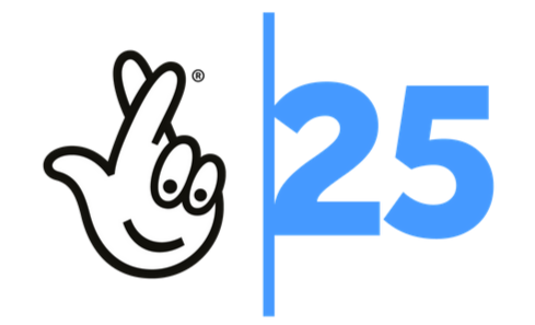 The National Lottery is 25! image