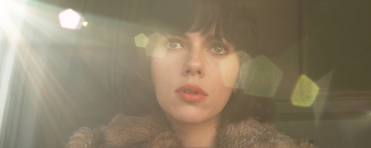 Scarlett Johansson in Under the Skin. Directed by Jonathan Glazer. (photo: courtesy of JW Films)