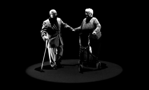 Elderly couple - The Flames by Tricky Hat