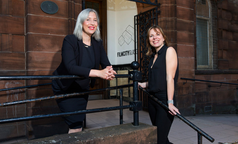 Film City Glasgow -  Susie Wright and Rebecca Thompson
