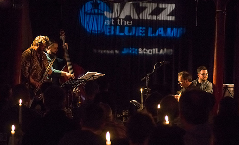 Jazz at the Blue Lamp - photo by Colin Hunter