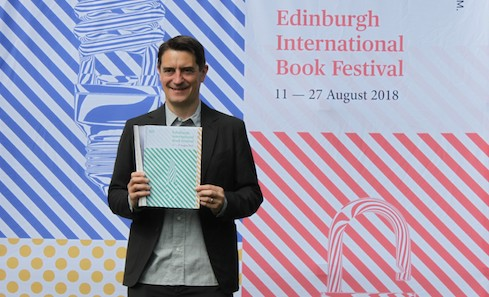Nick Barley, Director of the EIBF, launches the 2018 Programme copy