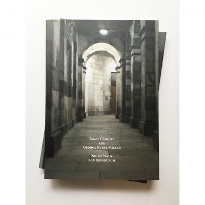 The book cover of Night Walk for Edinburgh