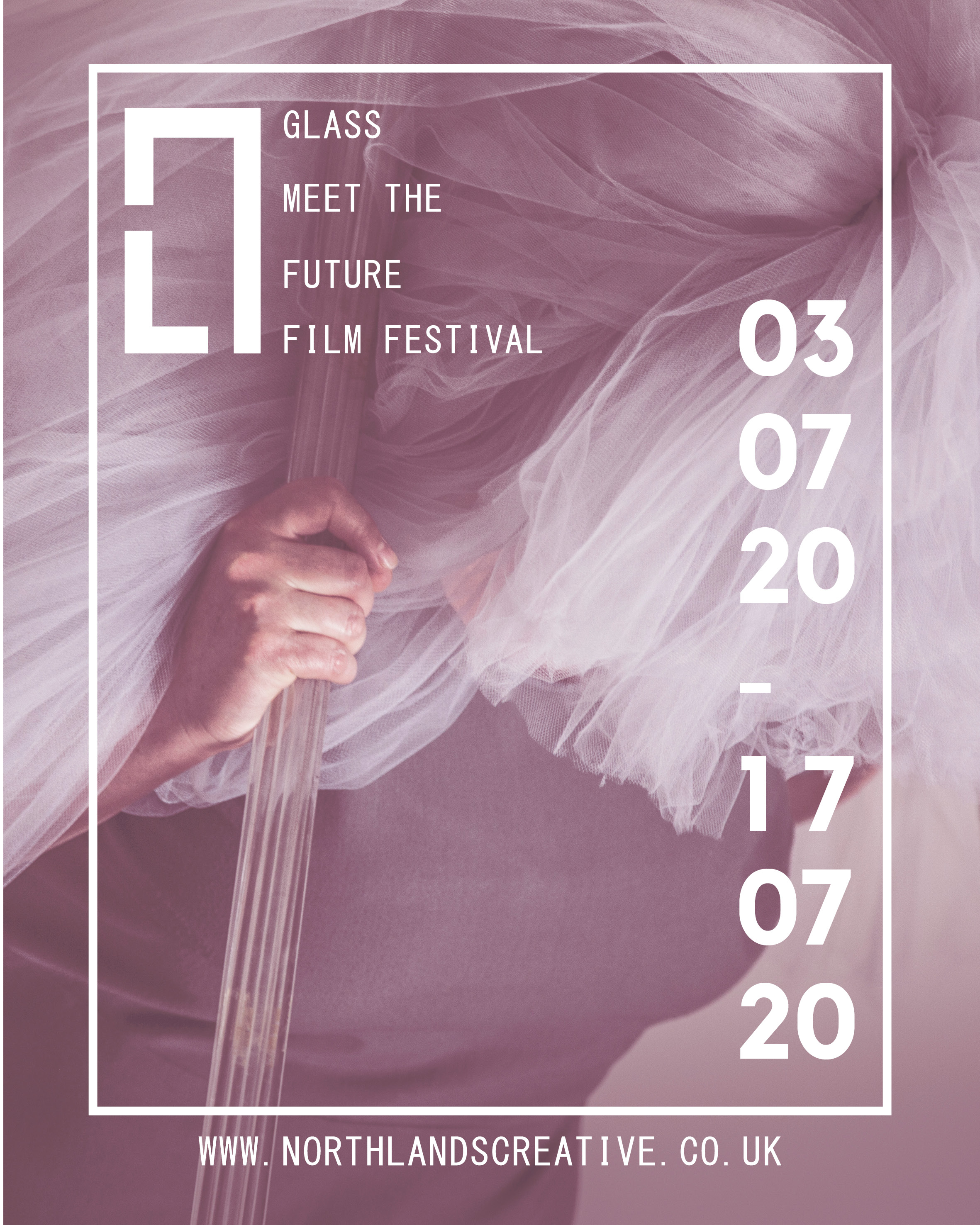 Glass Meet the Future Film Festival poster - 3rd July 2020 to 17 July 2020