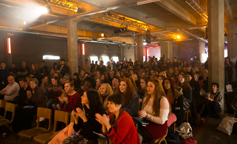 TTS Unconvention audience - photo by Eoin Carey