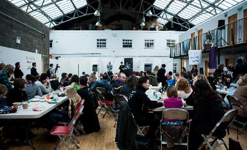 Leith Creative Brunch - photo Kat Gollock