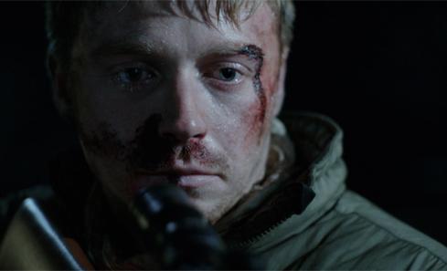 Jack Lowden as Vaughn Carter in CALIBRE